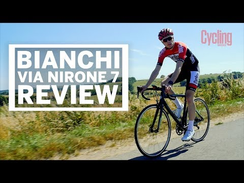 000f4bd1003 Bianchi Via Nirone 7 | Review | Cycling Weekly - YouTube