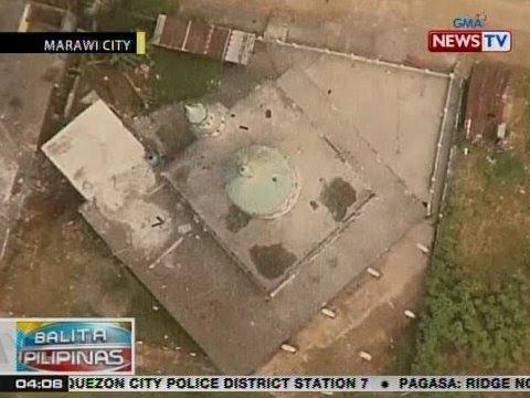 BP: Laki ng pinsala ng giyera sa Marawi City, kitang-kita sa drone video