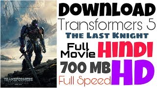 Download Transformers 5 | The Last Knight | Hindi | Blue Ray HD 720p | Full Speed | LINK UPDATED