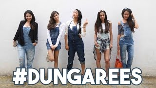 5 Ways To Wear Dungarees
