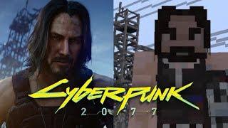 Cyberpunk 2077 - Трейлер ft. Киану Ривз | Minecraft