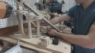 Mini Golf Marble Machine Build, Part 4 (Toilet Bowl)