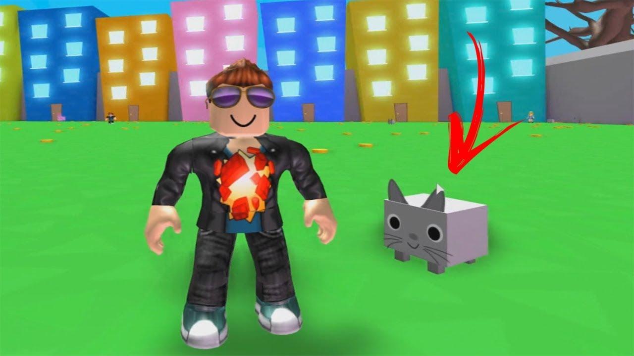 ROBLOX: O VELHOTE TEM UM NOVO ANIMAL DE ESTIMAÇÃO!! (Pet Simulator)