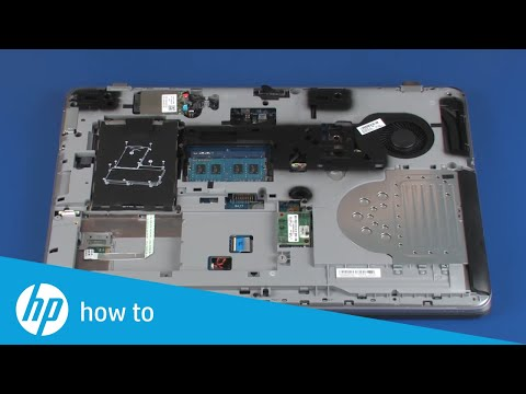 Removing and Replacing the Memory Modules | HP ProBook 650 and 655 G2 Notebooks | HP