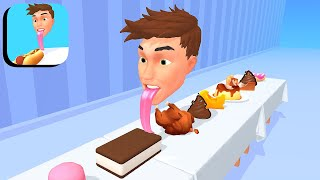 Lick Food ​​- All Levels Gameplay Android,ios (Levels 1-9)