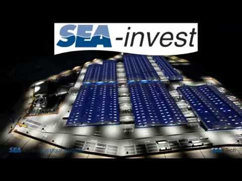 SEA-TECH : Project inauguration, 3D animation Lumion, construction and overfly