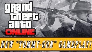 "GTA 5 DLC - Valentines Day Special DLC - New Gun DLC - ""TOMMY GUN""  ""GTA 5 DLC"""