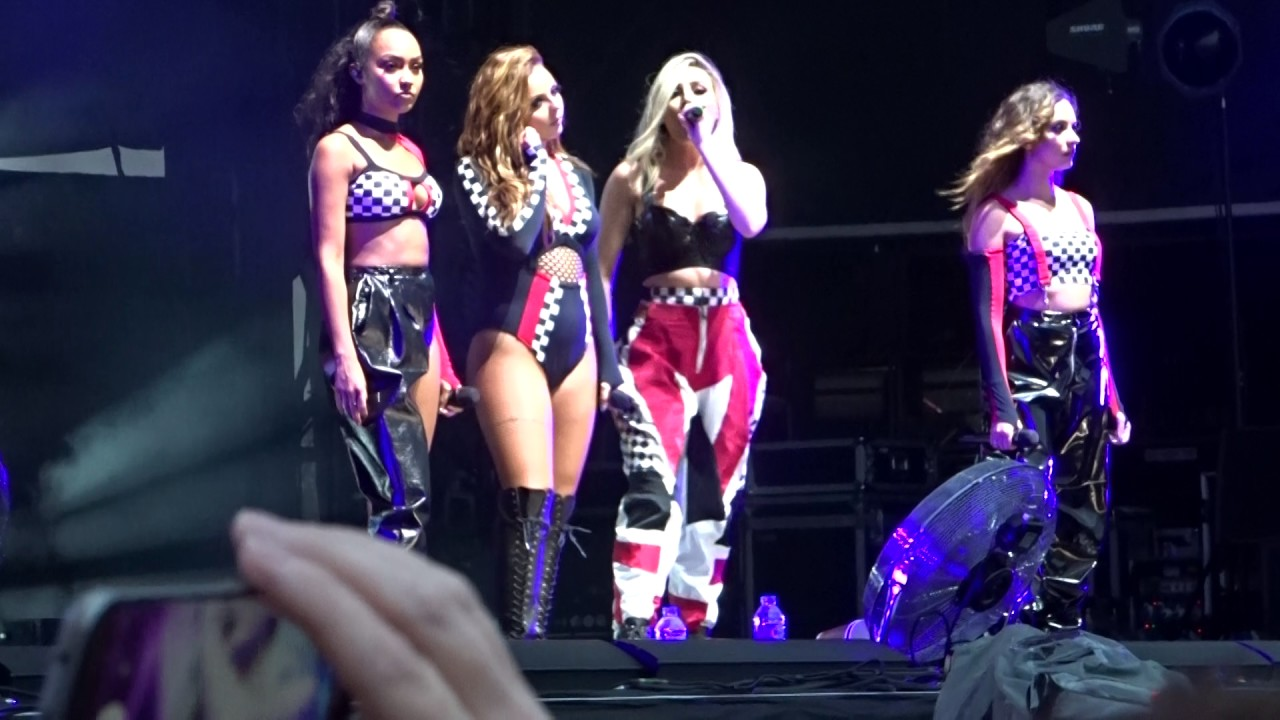 87fe9e10040cd0 Little Mix Secret Love Song Edinburgh Royal Highland Centre Summer Shout  Out Tour