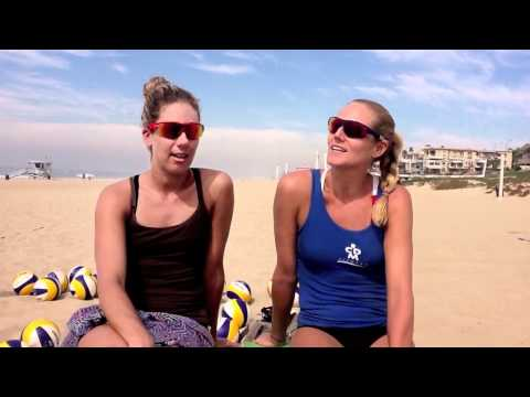 Desert Sand Volleyball  interview with Jen Kessy and April Ross