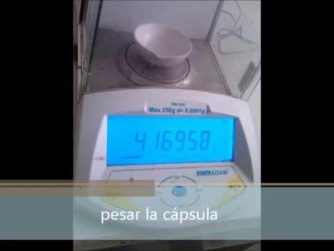 PRINCIPALES M TODOS DE DETERMINACI N DE HUMEDAD Y