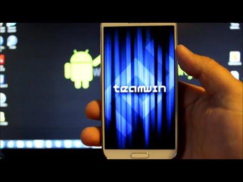 Samsung Galaxy S4 Custom Recovery Super Easy install