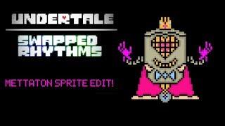 Swapped Rhythms AU   Mettaton Sprite Speed Edit   Undertale AU