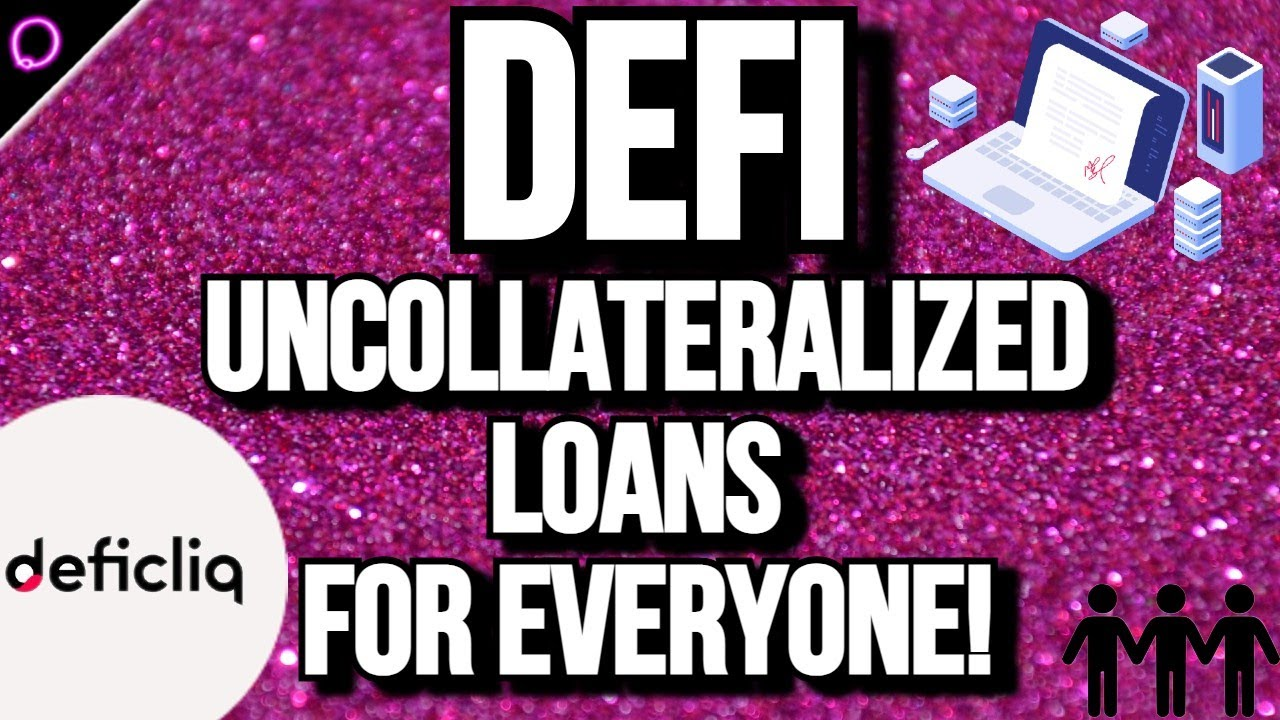 The true defi crypto project offering collateralized and uncollateralized loans for EVERYONE!