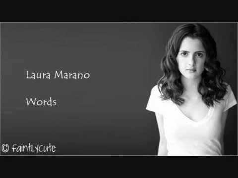 Laura Marano - Words - Lyrics