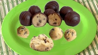 Quick Edible Cookie Dough Video Recipe | Flourless Eggless - Chocolate Chip Cookie Dough Recipe