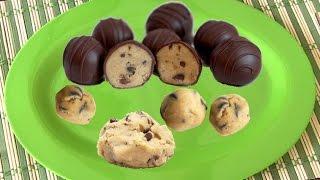 Quick Edible Cookie Dough Video Recipe | Flourless Eggless - Chocolate Chip Cookie Dough Recipe