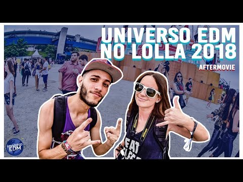 Aftermovie: Universo EDM No Lollapalooza Brasil 2018
