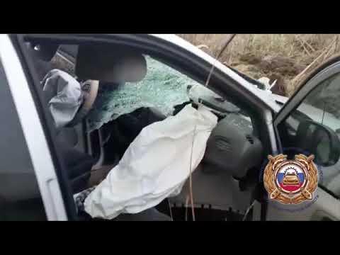 В районе погранперехода Чернышевское перевернулся Chrysler, водитель погиб