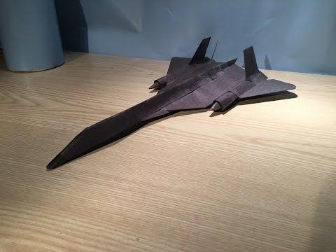 How To Make a Lockheed Martin SR-71 Blackbird