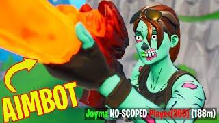 "new ""aimbot"" sniper is BROKEN (Fortnite Montage)"
