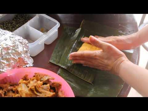 Tamales Panameos  Tendiendo Tamales  YouTube