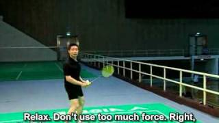 ZhaoJianhua_XiaoJie_14 - Forehand clear, Backhand drop_with_sub.avi