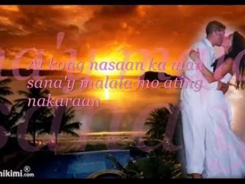 "April Boy Regino-Ganyan Talaga Ang Pag-ibig""Lino Elen""  W/ Lyrics"