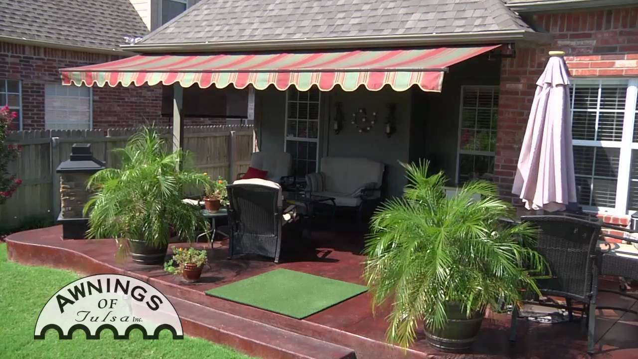 Awnings Of Tulsa Retractable Awning Youtube