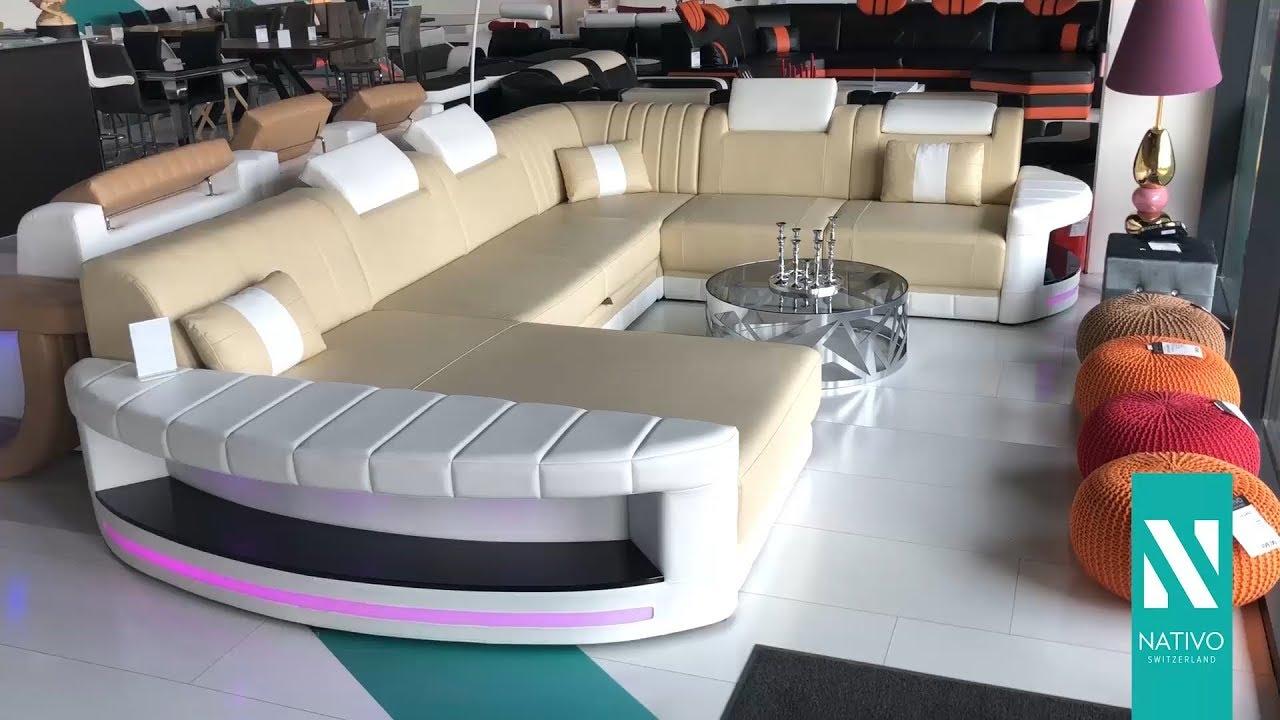 Nativo mobili italia divano di design atlantis xxl con