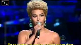 120   Beyonce singing the Etta James Classic