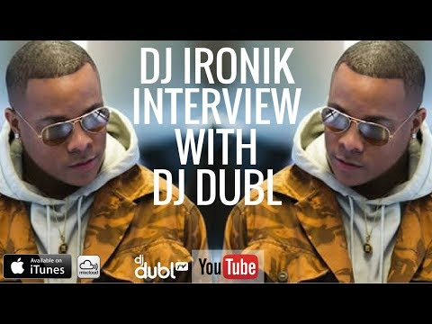 DJ Ironik Interview - Got chased through a shopping mall, getting Snoop on a track & more!