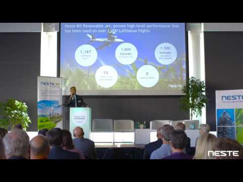 Neste Renewable Jet Fuel: A solution for sustainable aviation