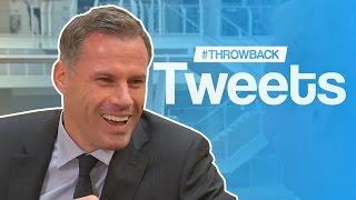 Jamie Carragher | #ThrowbackTweets