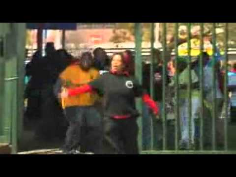 Strikes in South Africa turn violent