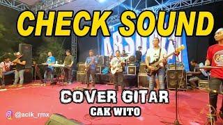 Download lagu Cek Sound Cak Wito live Cover Gitar MP3