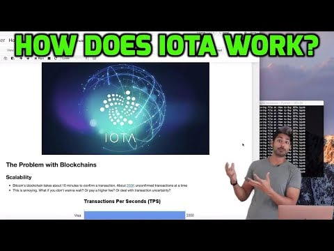 How does IOTA work?
