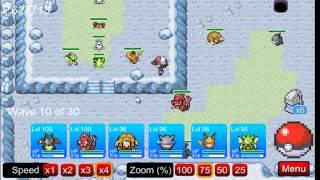 (PTD) Pokemon Tower Defence part 73 - Seafoam Islands