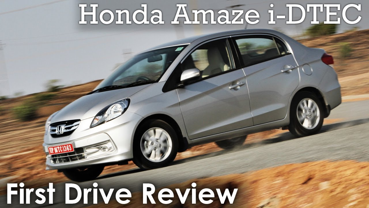 Honda Amaze I Dtec Diesel Review Youtube