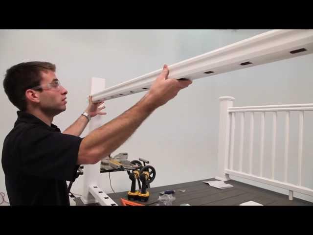 TimberTech® RadianceRail Express® Railing Installation