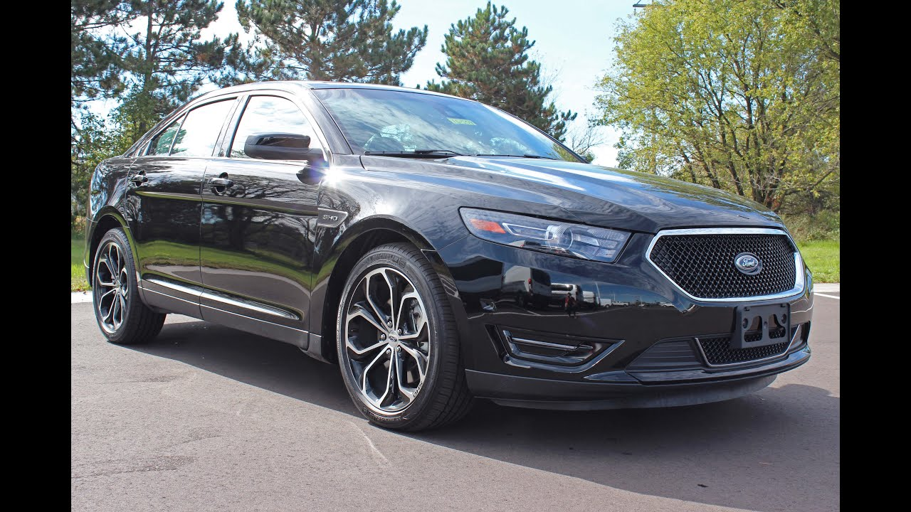 2016 Ford Taurus Sho >> 2016 Ford Taurus Sho 3 5l Ecoboost Awd At Eau Claire Ford Lincoln