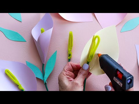 DIY Paper Flowers by Clever Poppy Long Video