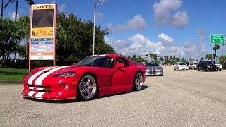 For Dodge Viper FANS Video Collection LOUD REVS, HARD ACCELERATION GREAT SOUND!