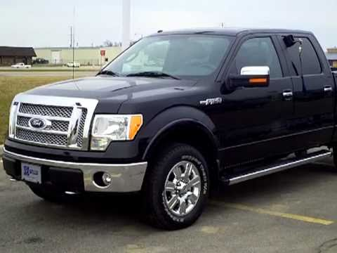 2010 ford f150 lariat short box flex fuel 4x4 youtube. Black Bedroom Furniture Sets. Home Design Ideas