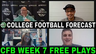 College Football Week 7 Picks and Predictions | NCAAF Betting Preview | Sportsmemo Football Forecast
