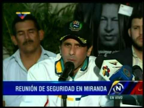Declaraciones de @hcapriles luego de su reunión con Rodriguez Torres
