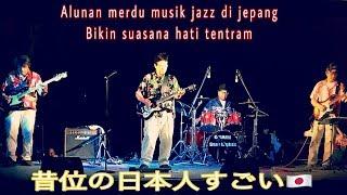 Musik Jazz Clasic Orang Tua Di Jepang || Luar biasa