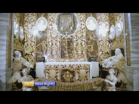 Rome's hidden treasure: Historic church with a connection to two saints - EWTN News Nightly