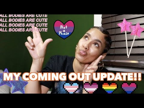 My Coming Out UPDATE🧜🏼♀️🧚🏼♀️🦄