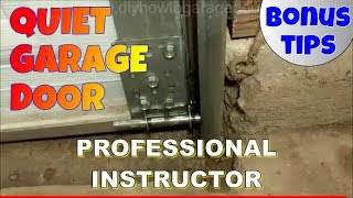 How and Where to Lubricate a Garage Door to Stop Squeaks