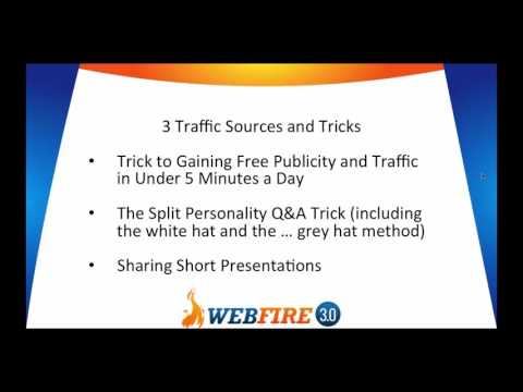 3 Largely Untapped Traffic Sources/Tricks